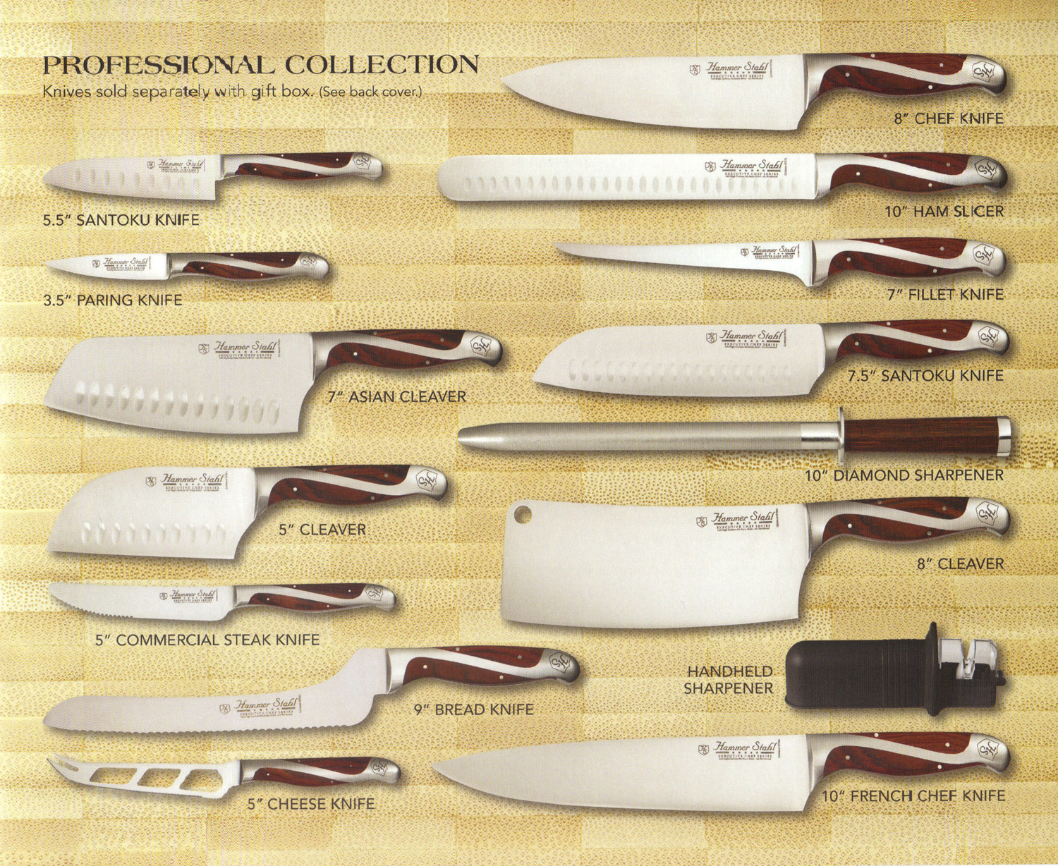 Professional Knife Sets