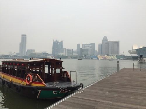 シンガポール水上タクシー