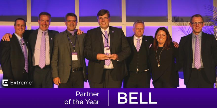Extreme Networks Partner Award