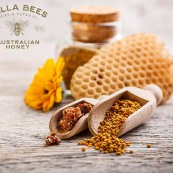 Bella Bees Honey - Bees Wax Comb on top of Frame