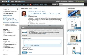 Bella Domain Media 5 Linkedin Tips and Tricks Signal