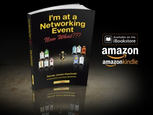 Find Sandy's book, I'm at a Networking Event--Now What??? on Amazon or iTunes