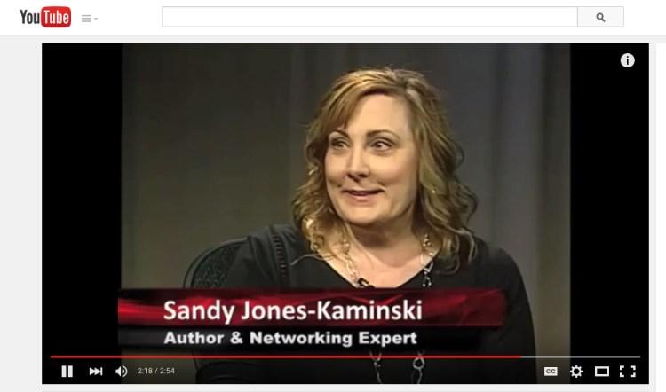 Sandy Jones-Kaminski, Author + Networking Expert, Bella Domain Media