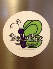 Bellaflies Magnet