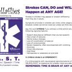 FREE Pediatric Stroke Sign Printable
