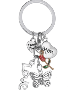 Mom - Sleutelhanger - sleutelhanger - Moederdag cadeau - Sleutelhanger met foto - Cadeau idee voor mama - Oma cadeau - Moederdag