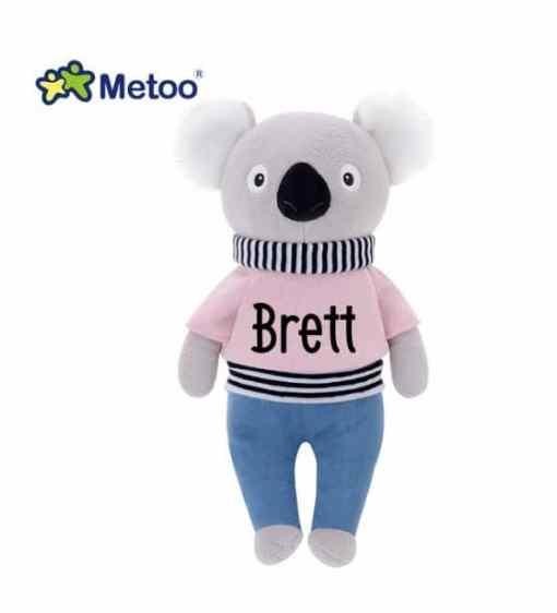 Metoo pop - Mr Koala- gepersonaliseerd met naam, pop met naam, gepersonaliseerde pop , gepersonaliseerd cadeau, Kraam cadeau met naam , Naam cadeau, Naam kado