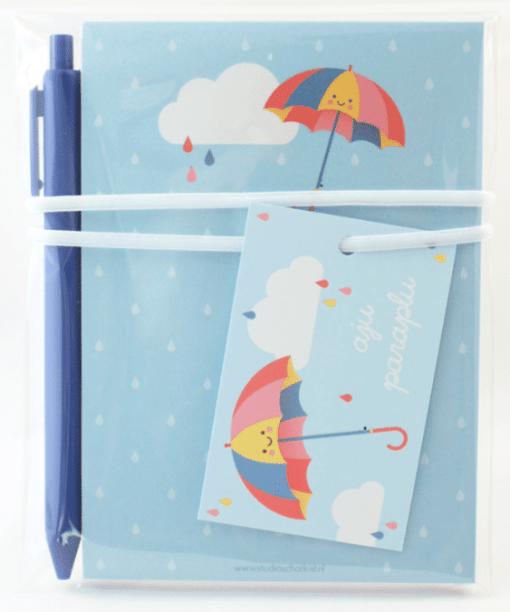 Kadoset   aju paraplu - Einde school jaar cadeau - Cadeau schooljaar - Juffen dag cadeau - Cadeau voor de juf - Cadeau meester