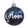 Kerstbal blauw| Gepersonaliseerd met naam - Kerstbal - baby's eerste kerst - Gepersonaliseerde kerstbal - Cadeau met naam - Kerstcadeau
