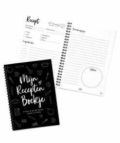 Invulboek voor al je recepten - Zoedt - Een super handig invulboek voor al jouw favoriete recepten. Gepersonaliseerd cadeau