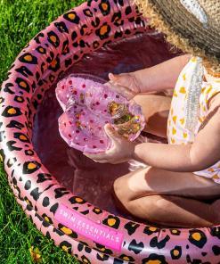 Swim Essentials Baby zwembad Panterprint Rosé goud 60 cm