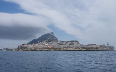 Levante cloud over Gibraltar