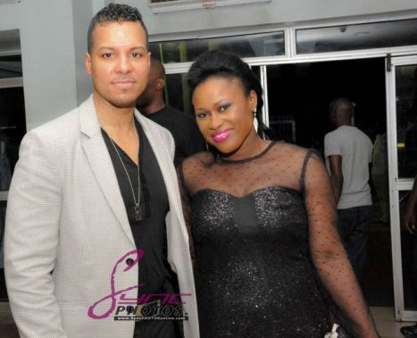Image result for uche jombo and husband