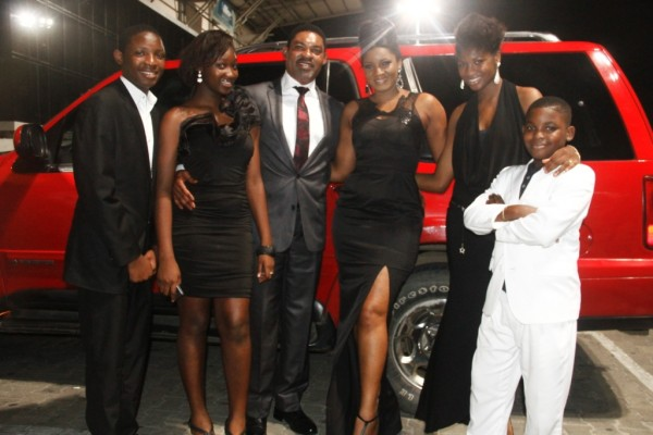 Image result for omotola and family