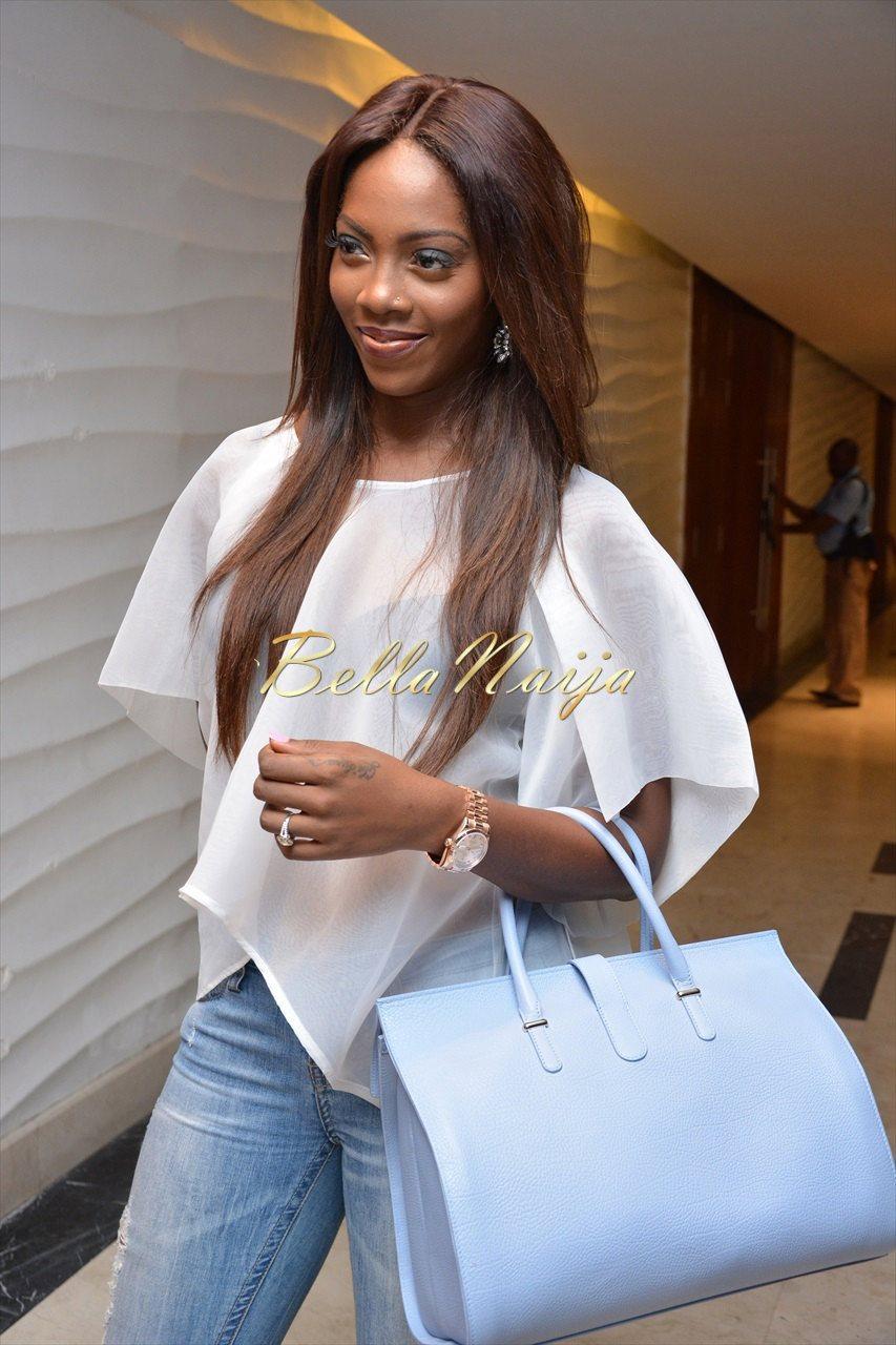 Tiwa Savage In Bridget Awosika Classic FM Presents