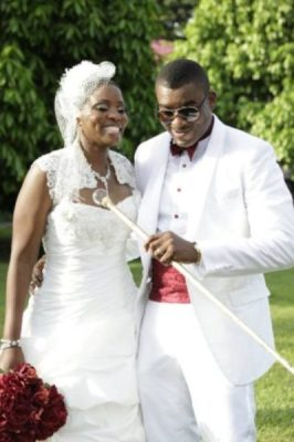Chidi Mokeme & Wife - BellaNaija