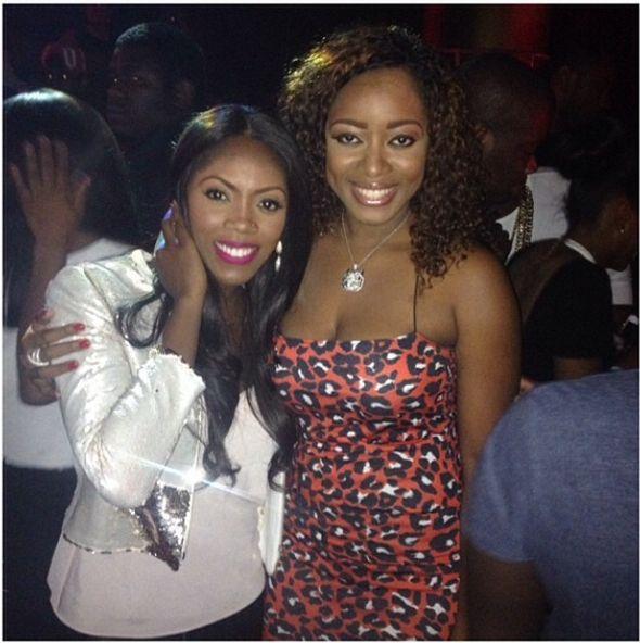 Tiwa Savage & Lilian Unachukwu