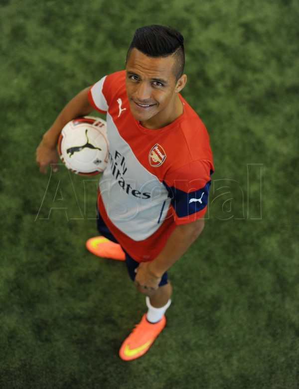 Sanchez - Arsenal - July 2014 - BellaNaija.com 01
