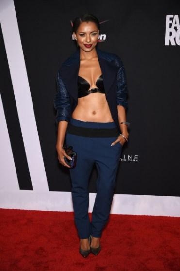 , Stars Rocked the Red Carpet at 'Fashion Rocks!'