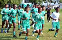 Image result for AWC: Super Falcons arrive in Cameroon
