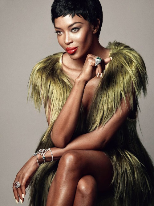 Diamonds Amp Furs Naomi Campbell Is Every Inch A Supermodel