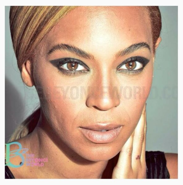 Beyonce Unretouched 2013 4