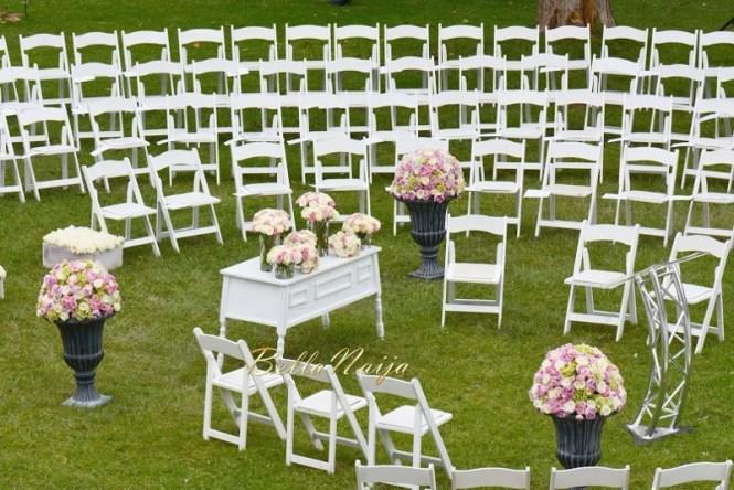 Purple And Ivory Wedding Balloon Decorations