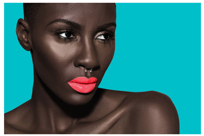 Destiny Owusu for Melissa Butler's Lip Bar Luxury Beauty brand - Bellanaija - May 2015