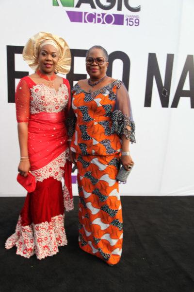 Wangi Mba-Uzoukwu & Onyeka Onwenu
