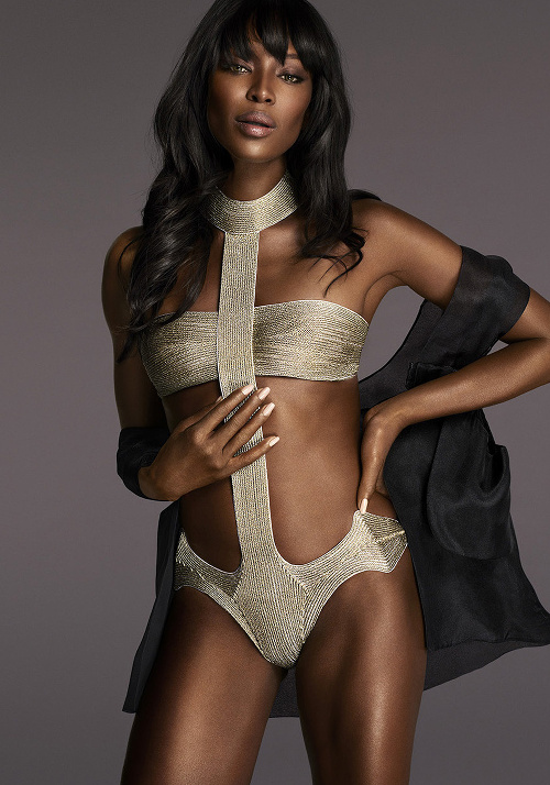 Naomi Campbell for La Perla FW2015 Campaign - BellaNaija - June2015001