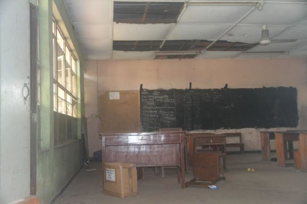 Before Renovation Ireti Primary School Classroom
