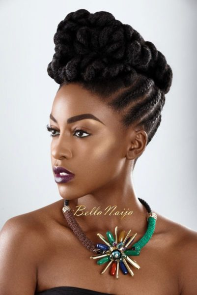 BN Beauty Pompadours Up Dos Amp More Dionne Smith Serves
