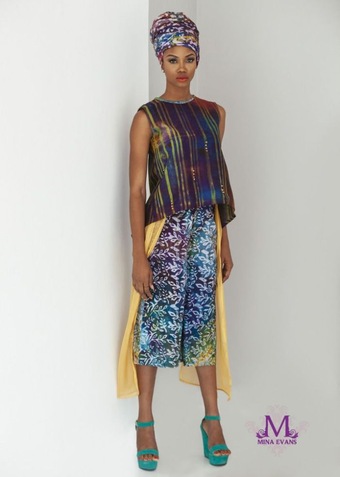 Mina Evans Spring Summer 2015 Collection Lookbook - Bellanaija - July2015003
