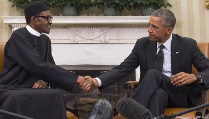 Image result for buhari and obama