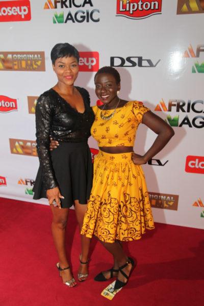 Kehinde Bankole & Diana Yekini