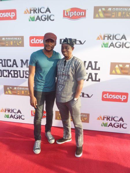 Tope Tedela and Tunde Kelani