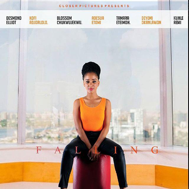 Falling Nollywood Movie Adesua Etomi 2