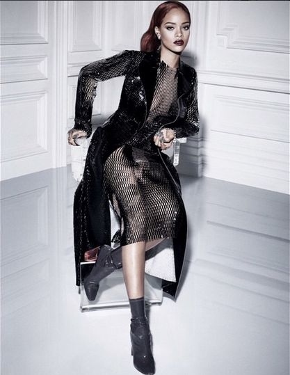 Rihanna x Dior - gorgeoustrends - September