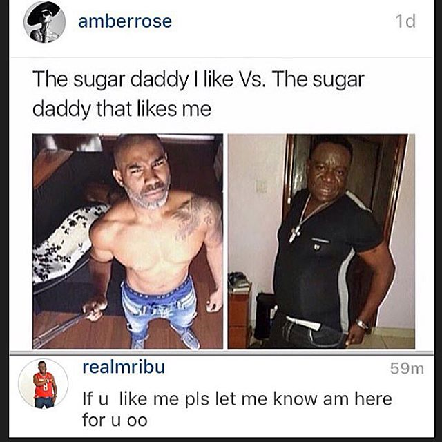 Mr Ibu responds to Amber Rose_November 2015