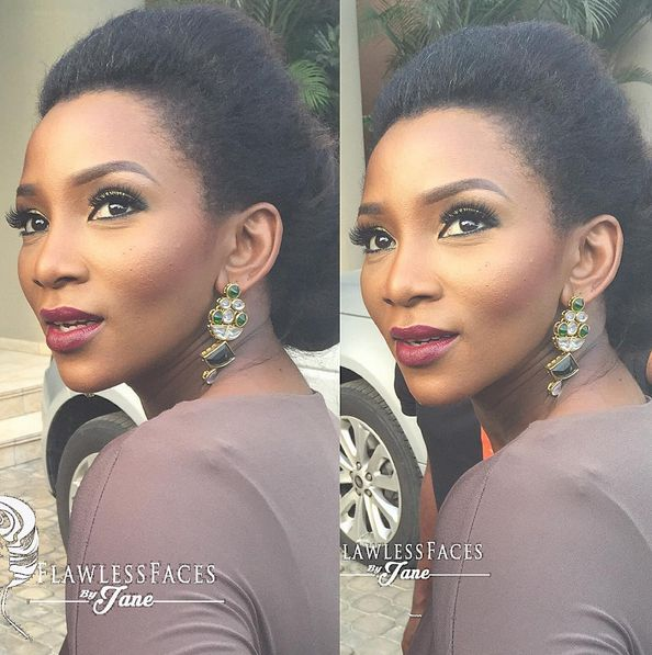 Genevieve Nnaji Makeup - BellaNaija - November2015001
