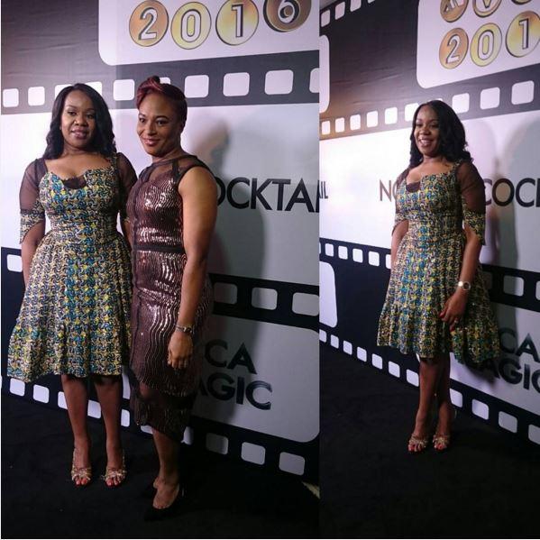 Wangi Mba Uzoukwu, Regional Director Mnet West Africa and Chioma Afe, Marketing Manager DStv