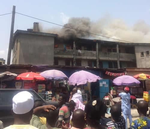 panti police station fire