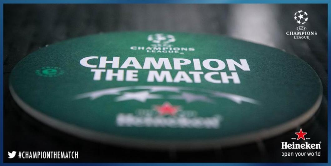 Champion The Match coasters