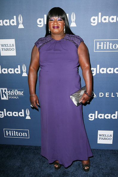 BEVERLY HILLS, CALIFORNIA - APRIL 02:  TV personality Chandi Moore arrives at the 27th Annual GLAAD Media Awards at The Beverly Hilton Hotel on April 2, 2016 in Beverly Hills, California.  (Photo by David Livingston/Getty Images)