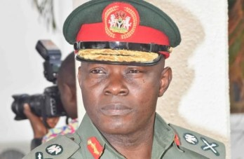 Chief of Defence Staff-General Abayomi Gabriel Olonisakin