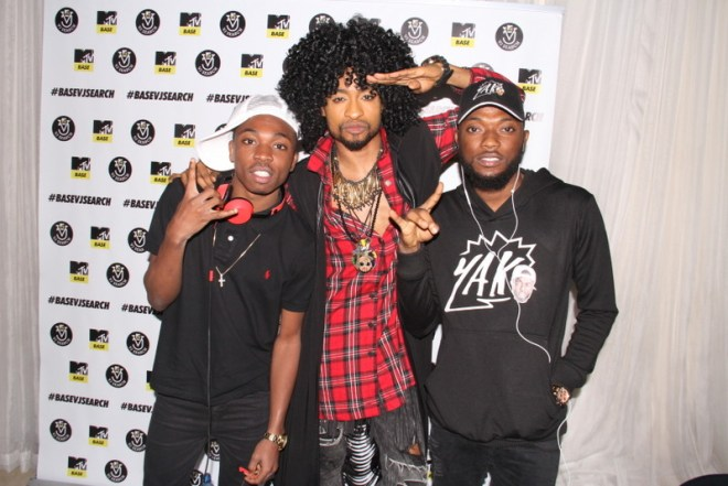 Mayorkun, Denrele and Dremo