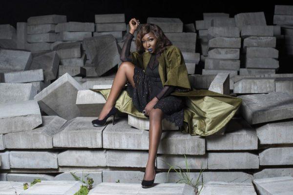 Singer Imanse In Nigerian Fashion Brand Weizdhurm Franklyn