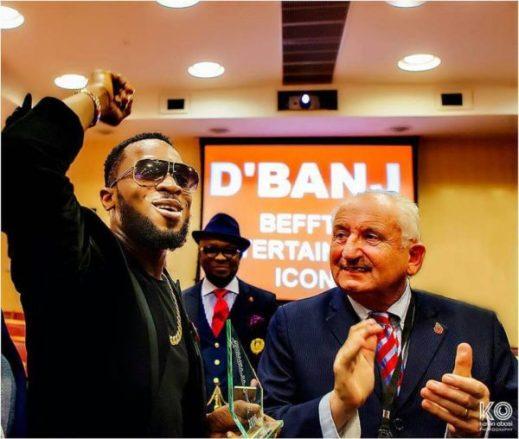 dbanj-2 BEFFTA Entertainment Icon Award