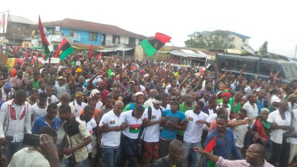 Police arrest 59 IPOB Members, to be tried as Terrorists - BellaNaija