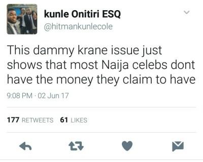 BellaNaija - Nigerians react to Dammy Krane's Arrest
